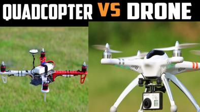 drone vs quadcopter